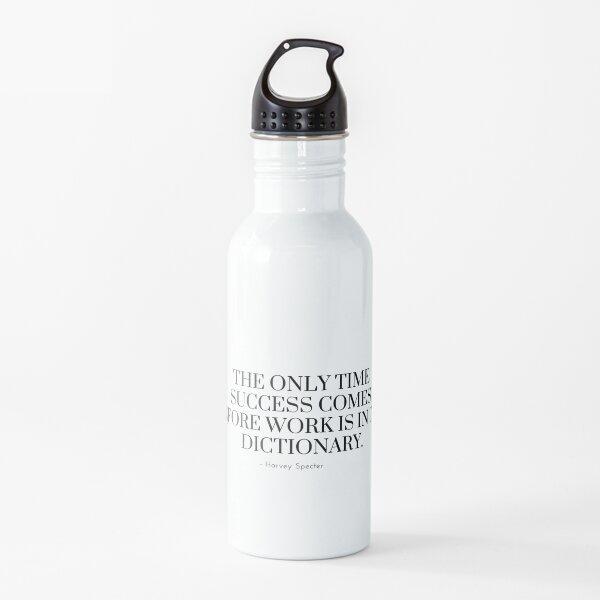 Cita de Harvey Specter | Trajes Botella de agua