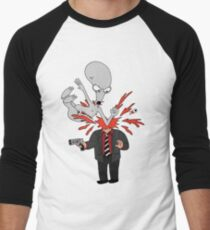 AMERICAN DAD - ROGER SLAM Men's Baseball ¾ T-Shirt