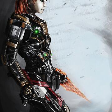 Nuestro comandante Shepard de Daenar7