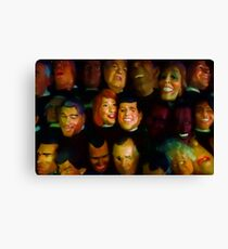 The Heads of State Canvas Print