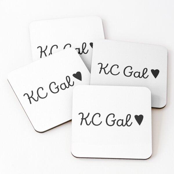 KC Gal <3 Coasters (Set of 4)