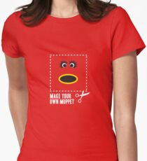Make Your Own Muppet - Mahna Mahna Womens Fitted T-Shirt