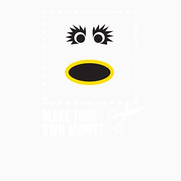 Make Your Own Muppet - Mahna Mahna by lifeye