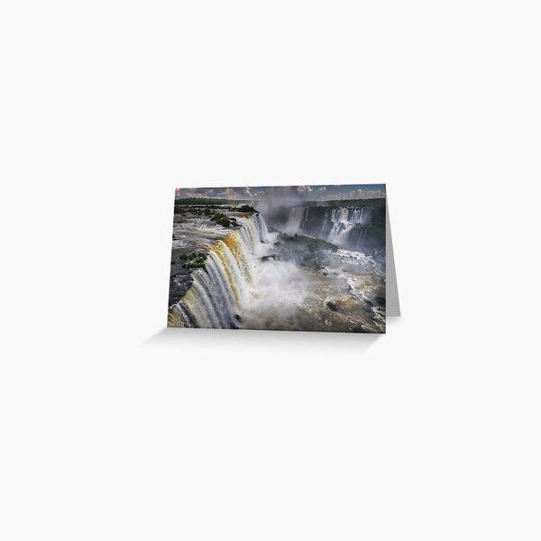 Waterfall Maelstrom Greeting Card