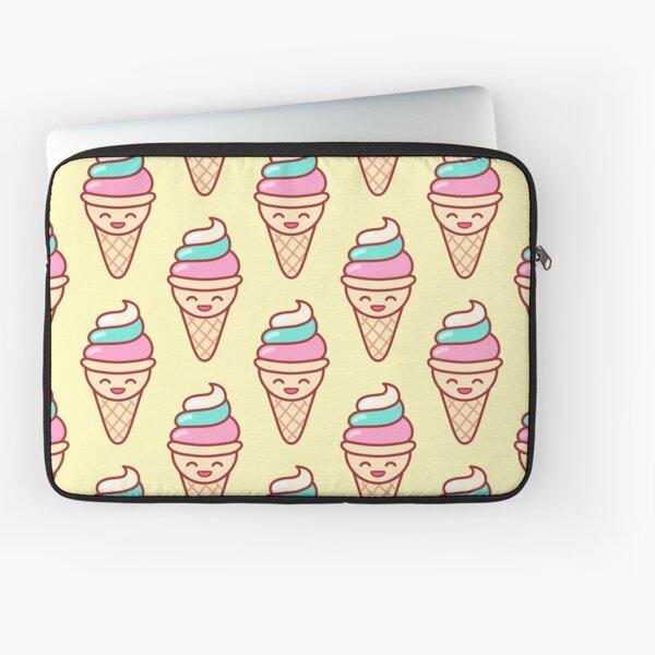 Whip Ice Cream Emoji Laptop Sleeve