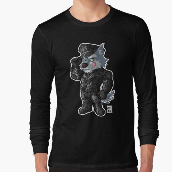 LEATHER WOLF - BEARZOO SERIES Long Sleeve T-Shirt