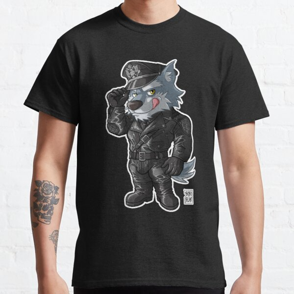 LEATHER WOLF - BEARZOO SERIES Classic T-Shirt
