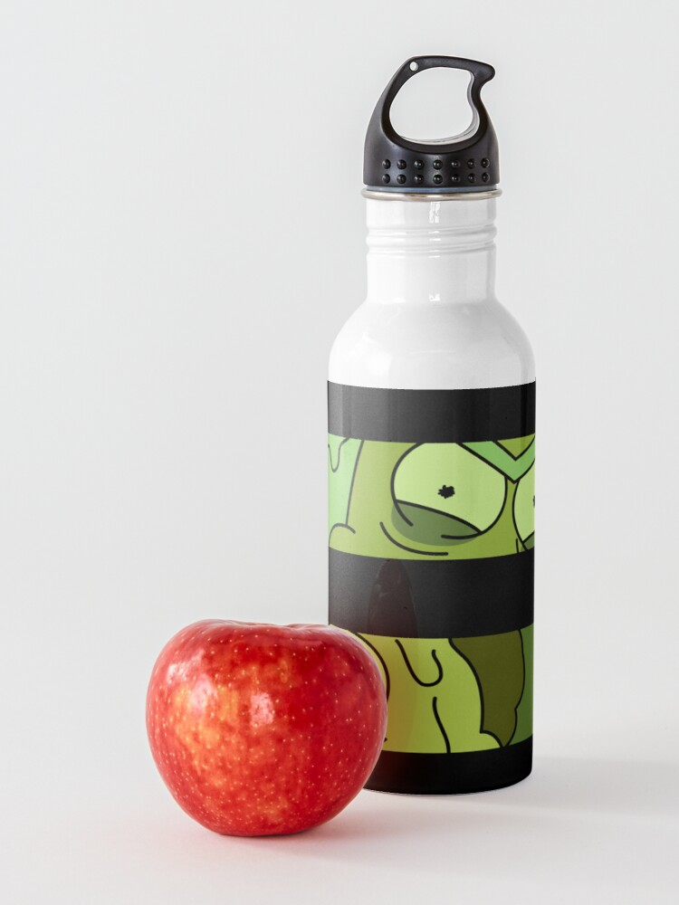 Alternate view of Toxic Rick and Morty Water Bottle