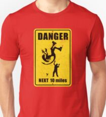 Danger! Complicated Death Ahead! Unisex T-Shirt
