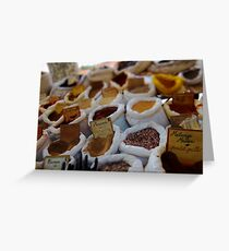 spice! Greeting Card