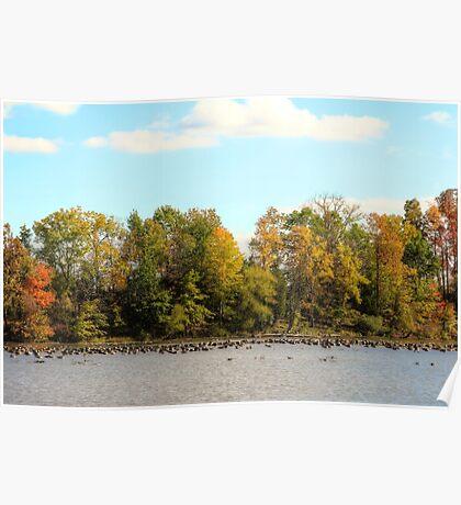 Green Lane Reservoir - East Greenville PA  - USA Poster