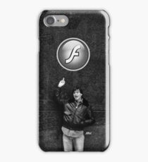 "Steve Jobs Says: ""Screw you Flash"" iPhone Case/Skin"