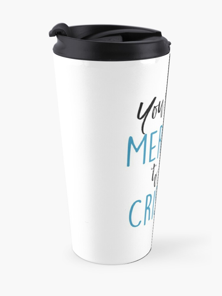 Alternate view of You're the Meredith to my Cristina Travel Mug