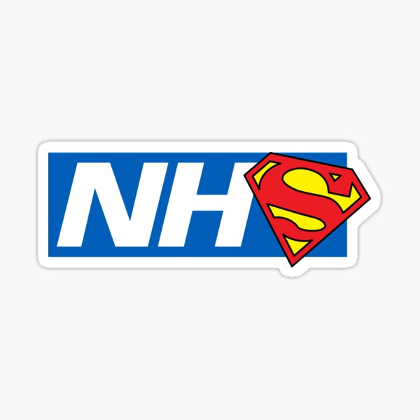Super NHS Heroes Sticker