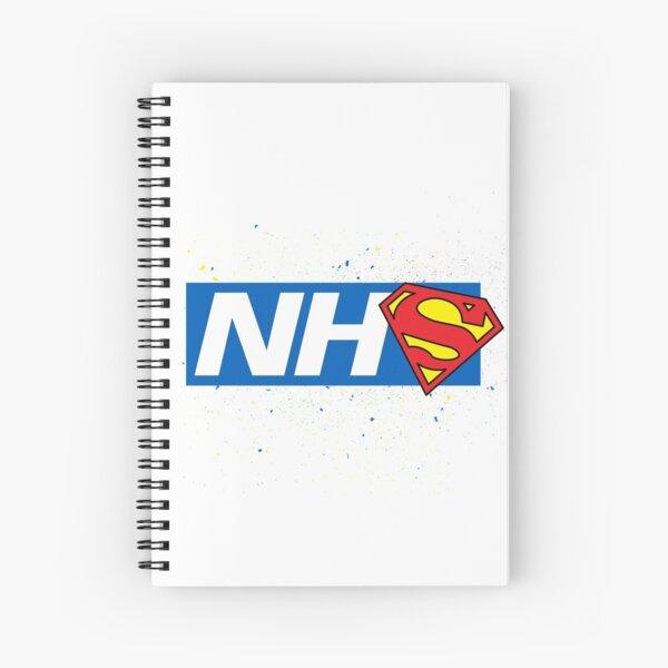 Super NHS Heroes Spiral Notebook