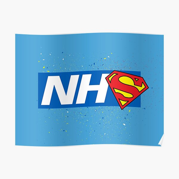 Super NHS Heroes Poster