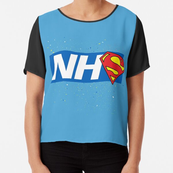 Super NHS Heroes Chiffon Top