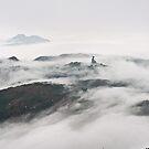 Buddha in the cloud by Alex Lau