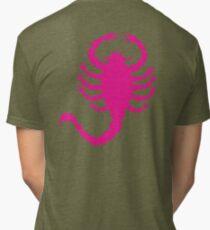 DRIVE SCORPION (PINK) Tri-blend T-Shirt