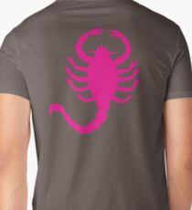 DRIVE SCORPION (PINK) Mens V-Neck T-Shirt