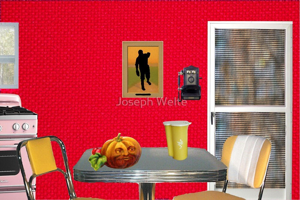 Beginning of The Day (Tribute To Wesselmann)  by Joseph Welte