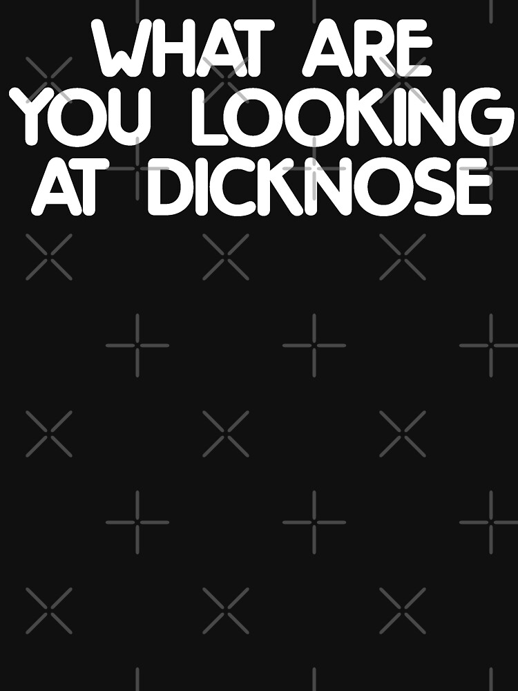 WHAT ARE YOU LOOKING AT DICKNOSE (Teen Wolf) by expandable