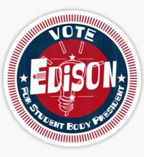 Vote Edison 2012 Sticker