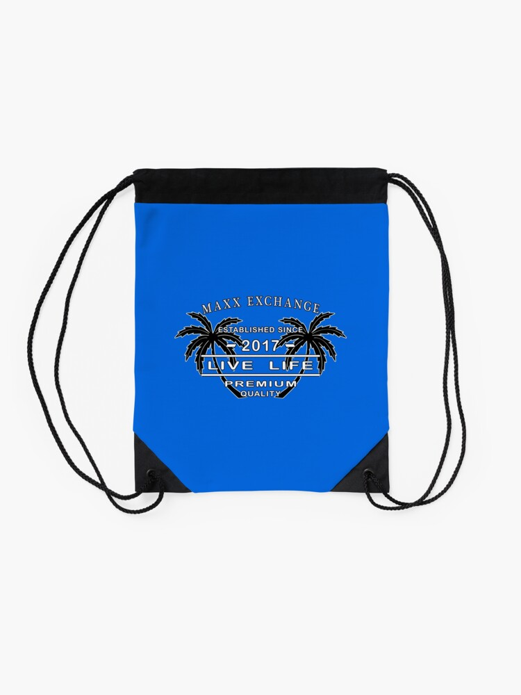 Alternate view of Seashore Sandals Coconut Live Life Maxx Exchange. Drawstring Bag