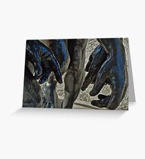Three Hands; Rodin Sculpture Composition Greeting Card