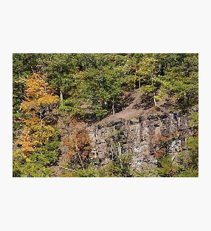 The Cliffs - Green Lane Reservoir - Green Lane PA - USA Photographic Print