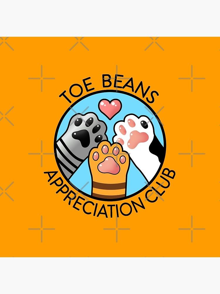 Toe Beans Appreciation Club by StudioMarimo