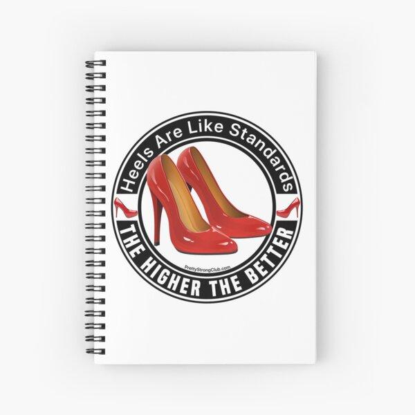 High Heels  Spiral Notebook