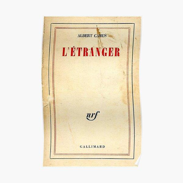 L'Étranger - Albert Camus Poster