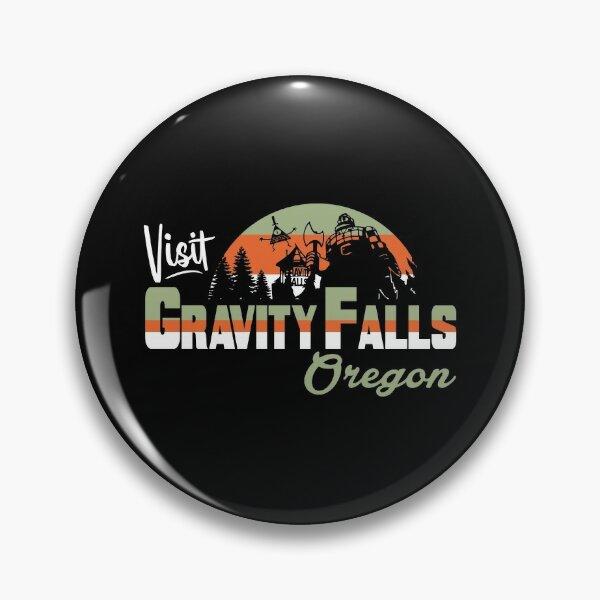 Visit Gravity Falls Pin