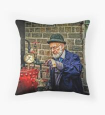Checking The Pressure Throw Pillow