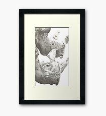 The Rhino Framed Print