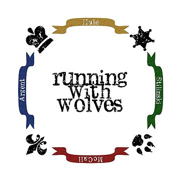 Running With Wolves by FroggyDarren