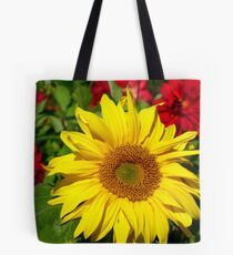 The Sun On A Cloudy Day - Sunflower - NZ Tote Bag