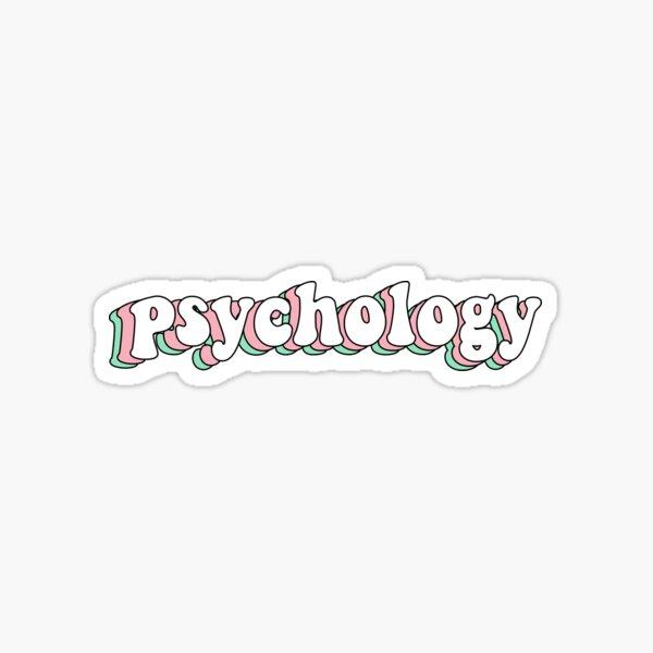 Psychologie Sticker