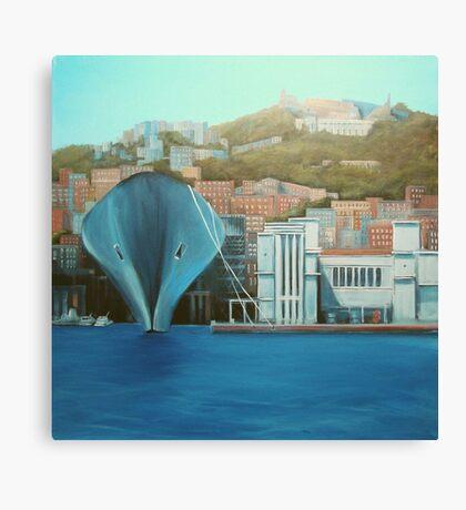 "Napoli  ""a moda mio"" Canvas Print"