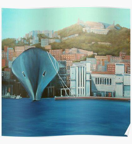 "Napoli  ""a moda mio"" Poster"