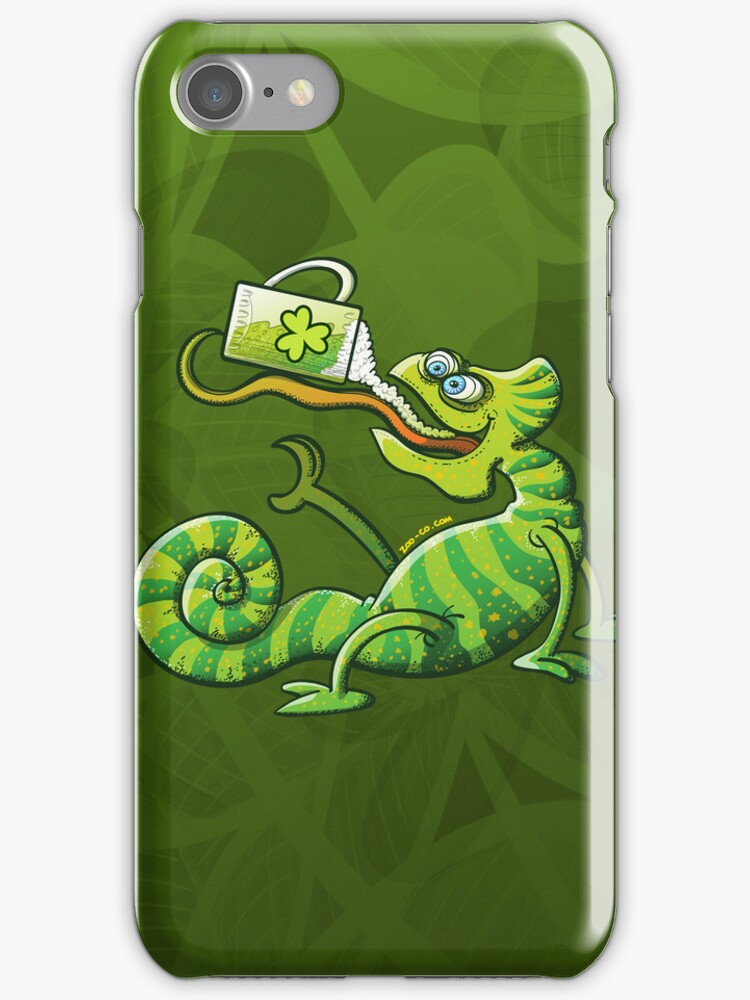 Saint Patrick's Day Chameleon by Zoo-co