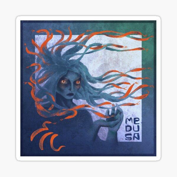 Medusa the Gorgon Sticker
