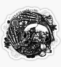 Hell Hope Horrible Sticker