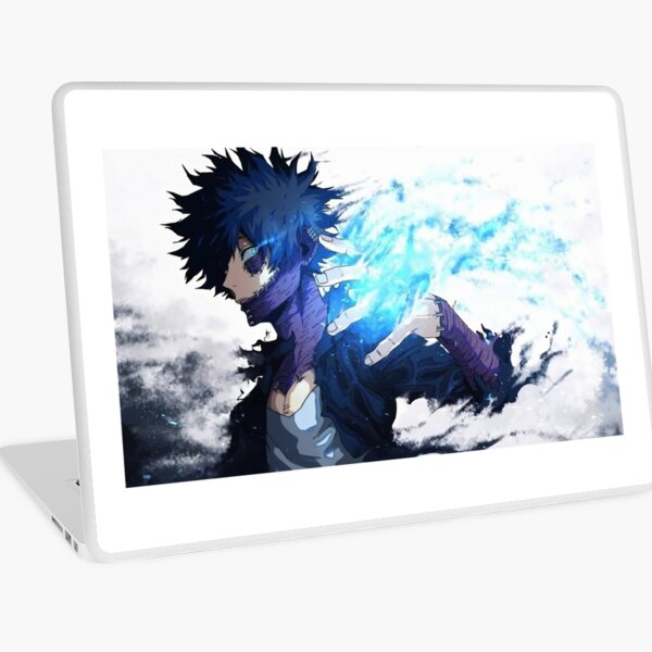 Dabi My hero academia villian 4k Print highest quality Laptop Skin
