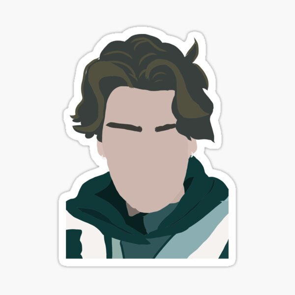 Chase Hudson (lilhuddy) Sticker