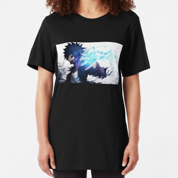 Dabi My hero academia villian 4k Print highest quality Slim Fit T-Shirt