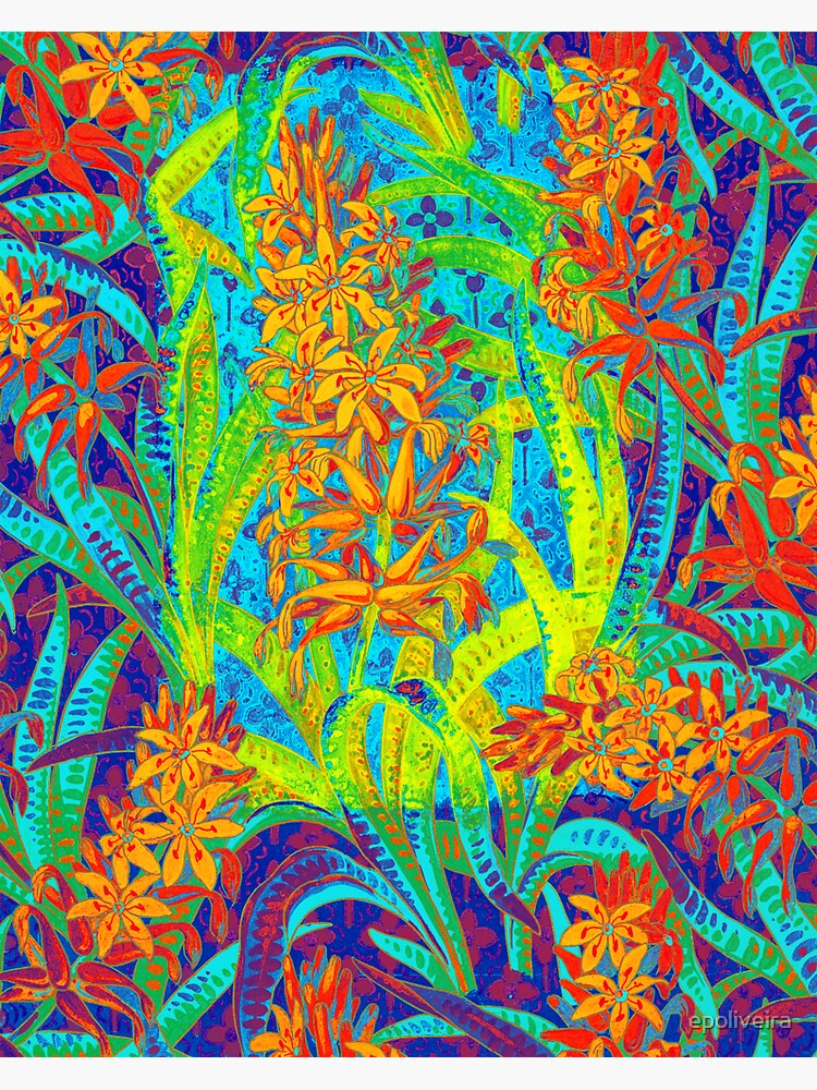 Floral Colorful Pattern by epoliveira