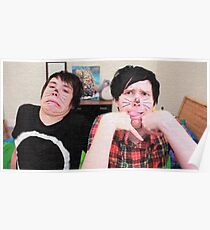 Textured Phan Poster