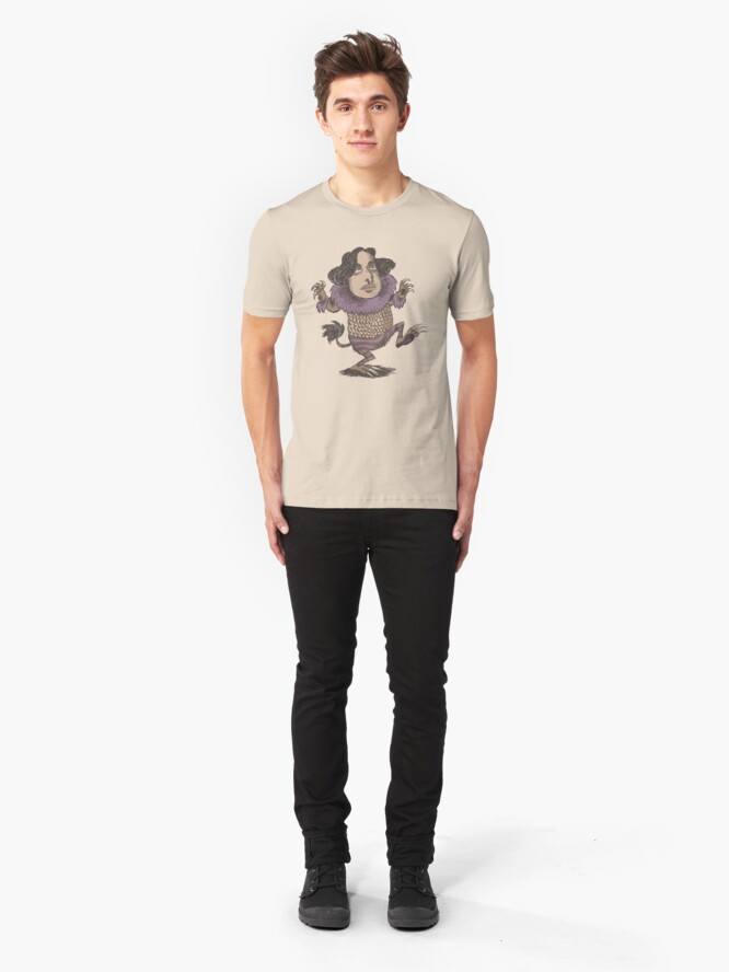 Alternate view of Wilde Thing (male) Slim Fit T-Shirt